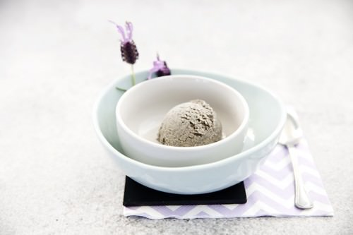 Black Sesame Ice-cream