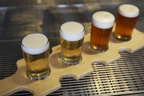 Lovedale Beer Tasting Paddle