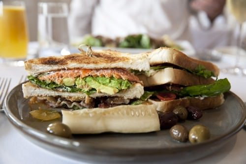 Ocean Trout Club Sandwich
