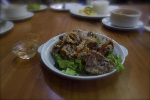 Conti Pastry Shop and Restaurant - soft shell crab