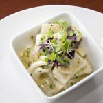 Calamari in a Creamy Confit Garlic sauce
