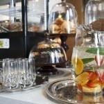 Cafe Elan High Tea Fruit Water