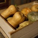 Pumpkins from the Kitchen Garden Roberts Restaurant