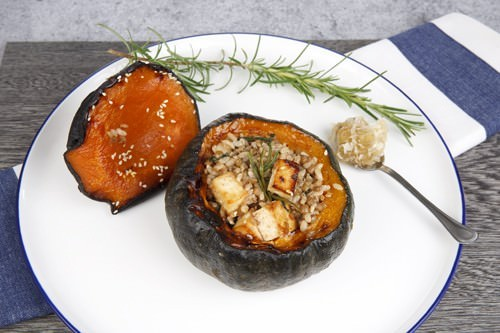 Stuffed Pumpkin Plated