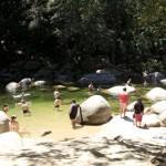 Swimming Mosman Gorge