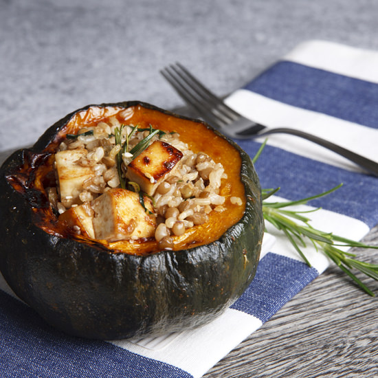 Vegan Stuffed Pumpkin Taste