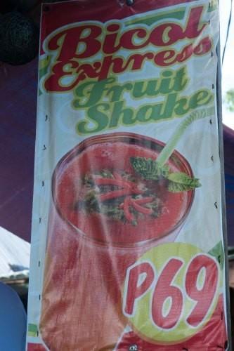 Bicol Express Shake