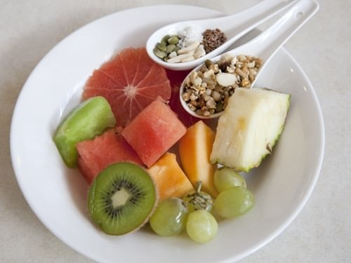 Fruit Platter w Nuts & Seeds