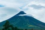 Mayon Volcano - rainy