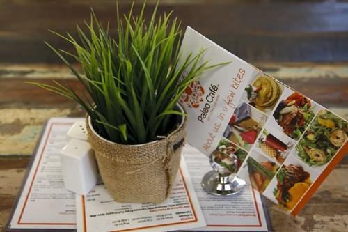 Paleo Cafe Menu
