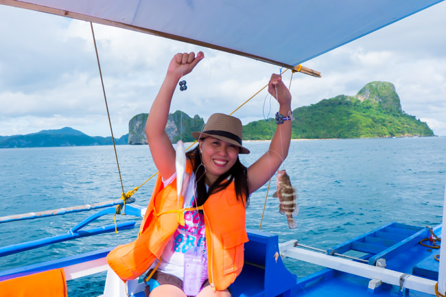 Fishing is Fun in El Nido