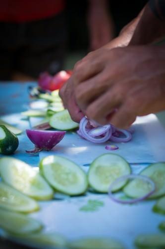 Food Prep - Payong-payong Island