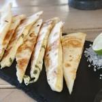 Three Cheese Quesadilla