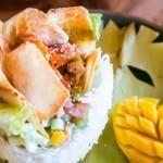 Fiji Restaurant - Fish Taro Basket
