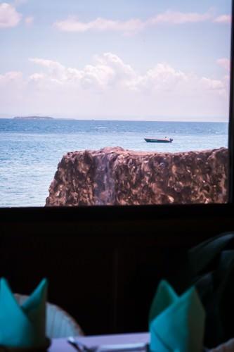 Fiji Restaurant - Window View