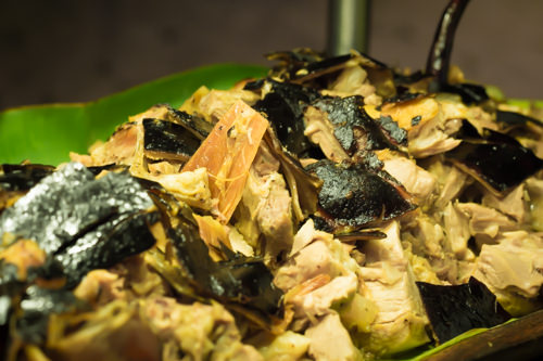 Filipino Fiesta - Black Lechon Chopped