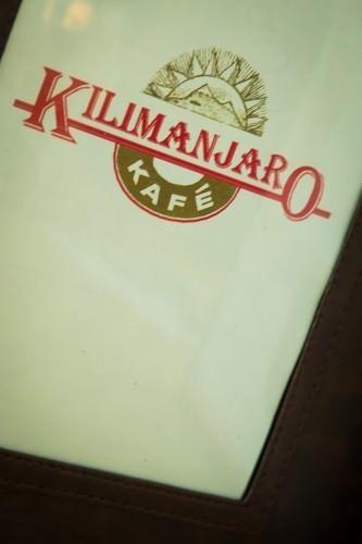 Kilimanjaro Kafe Menu
