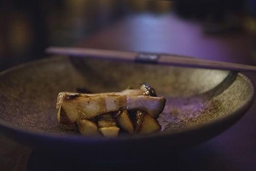 King Brown Mushroom Truffle Poke