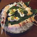 Scampi on Ice - Kiyomi Restaurant