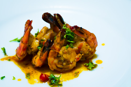 Hot and Spicy Gambas