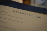 Manfredi at Bells - Menu