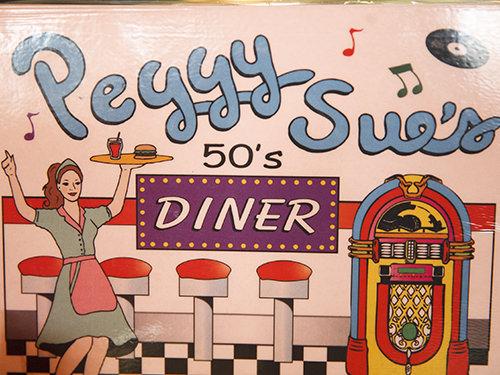 Peggy Sue's 50's Menu