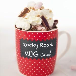 Rocky Road Mug Cake -Foodgawker