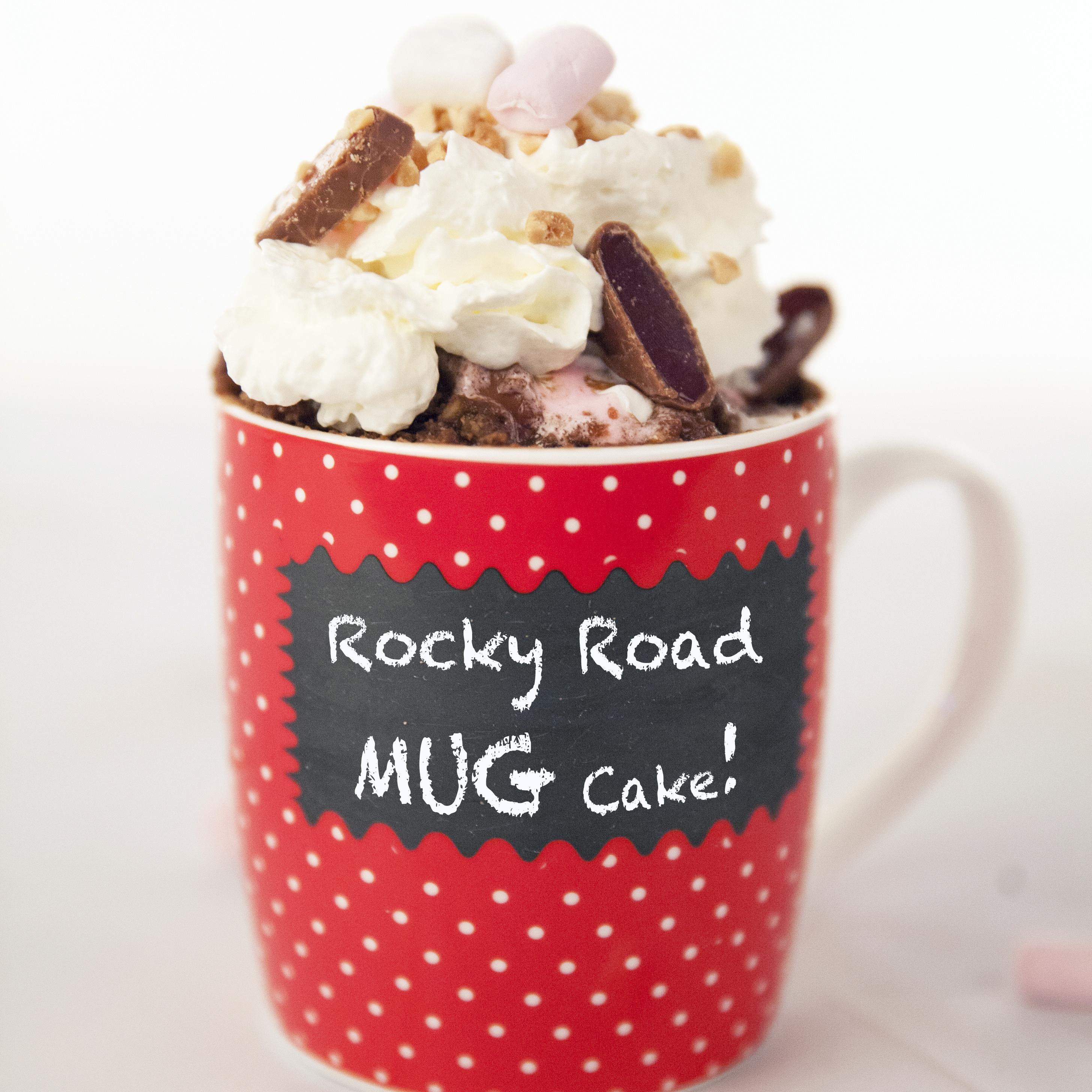 Rocky Road Mug Cake