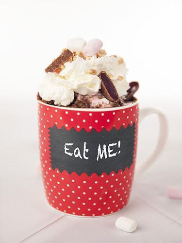 Rocky Road Mug Cake- Eat ME!