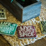 The Sanctuary Cafe - Coasters