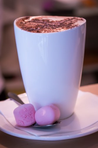 The Sanctuary Cafe - Hot Choco with Mallows