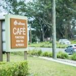 The Sanctuary Cafe - Signage