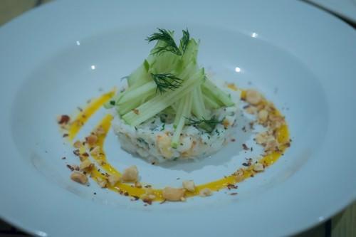 Fish Heads at Byron Bay - Spanner Crab Salad