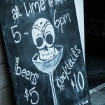 Lime Mexican Sawtell - Happy Hour Board