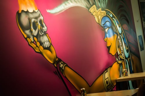 Lime Mexican Sawtell - Mural
