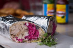 Lime Mexican Sawtell - Pulled Pork Burrito