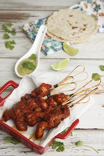 Mexican Yucatan Chicken w Salsa Verde