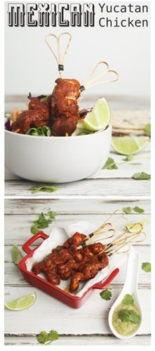 "Pollo Pibil ""Pin Me""Mexican Yucatan Chicken."
