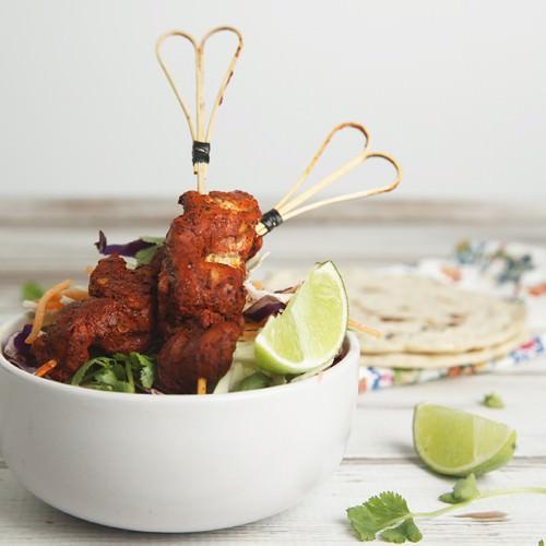 Ingredients Mexican Yucatan Chicken Skewers  - Pollo Pibil