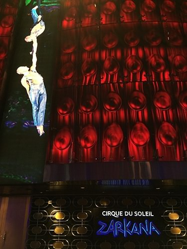 Zarkana Cirque Du Soleil - Las Vegas Show