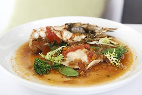 Chargrilled Moreton Bay Bug Bisque