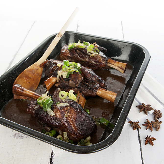 How to Make Maple Syrup Lamb Shanks
