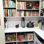 Butlers Pantry Left View - A home for cookbooks