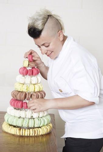 Executive Pastry Chef Anna Polyviou Shangri-La Hotel