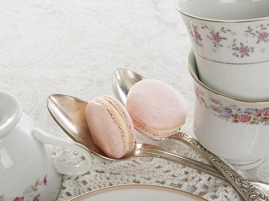 Macaron Recipe & Tea Setting