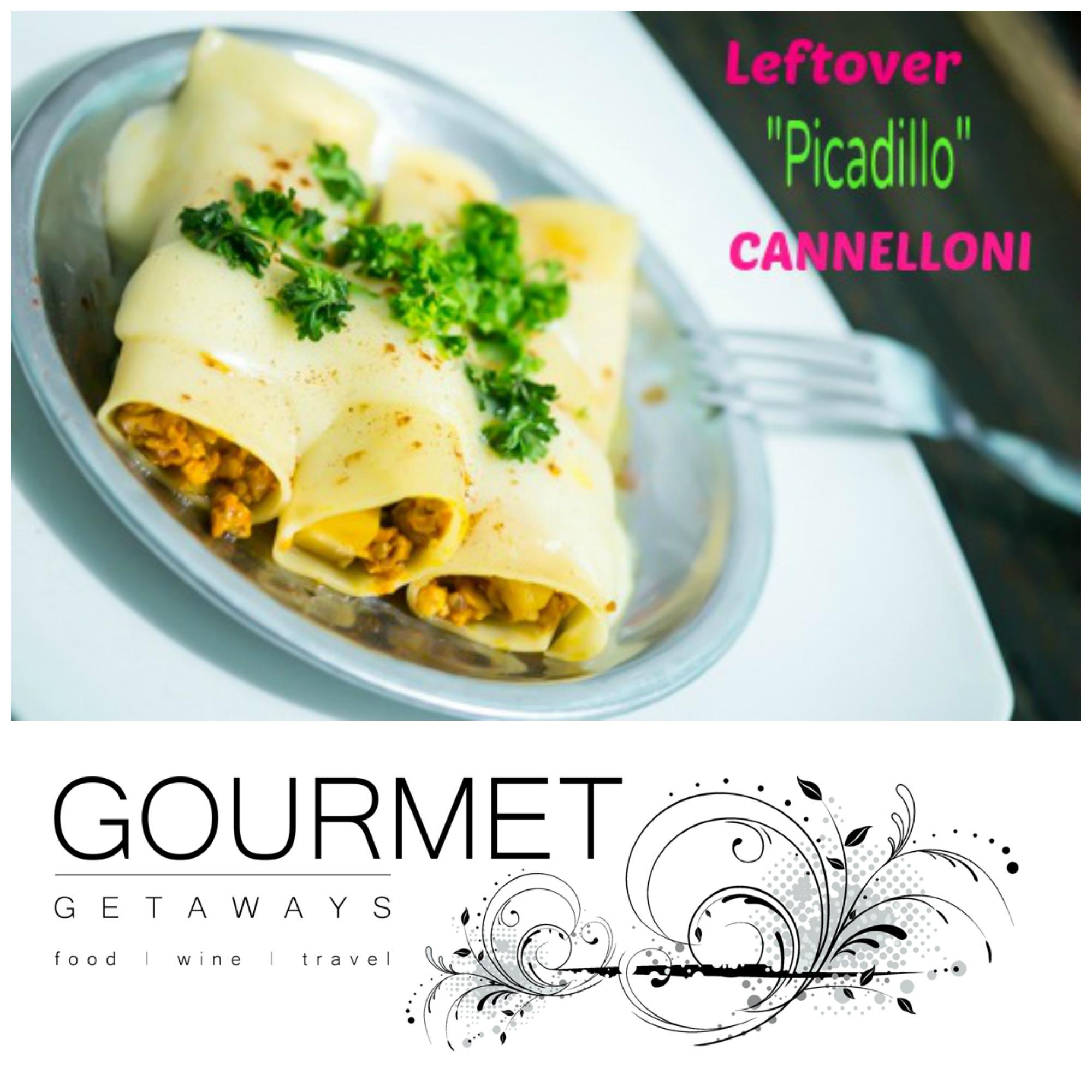 PIN ME - Leftover Picadillo Cannelloni