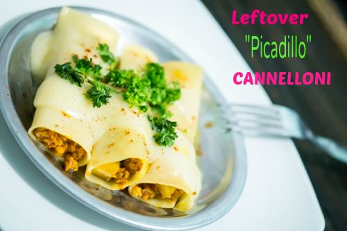 PIN ME - Leftover Picadillo Cannelloni - 3