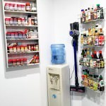 Butlers Pantry Design - Spice Rack, sauce rack etc -Right Wall Pantry