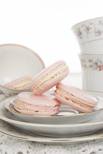 Turkish Delight Pink Macaron