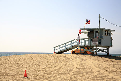 The Baywatch Beach
